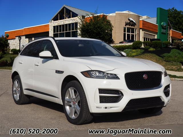 new 2017 jaguar f pace 35t r sport awd 35t r sport 4dr suv in wayne jj7391 jaguar main line. Black Bedroom Furniture Sets. Home Design Ideas